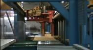 Производство эковаты, деревянных окон, дверей и домов из клееного бруса в цехах известной компании 'Реиз'.