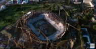 Сооружения для ремонтно-строительных работ, строительные леса, стойки, вышки-туры