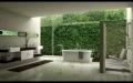 Ванная комната как часть природы