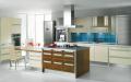 Комбинированная кухня в минимализме