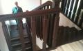 Лестница лиственница