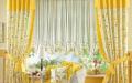 Желтые шторы в интерьере: Yellow