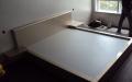 Кровать крашенная по индивидуальному заказу