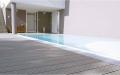 Террасная доска декинг, как покрытие зоны, прилегающей к бассейну