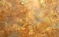 Цвет ржавчины в отделке стен