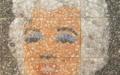 Картина из соли. Marilyn Monroe.