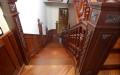 Элитная лестница для загородного дома, дачи и коттеджа