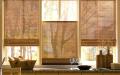 Полупрозрачные ролл-шторы для кухни