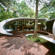 Здание со сложной архитектурой