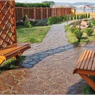 Тротуарная плитка под натуральный камень