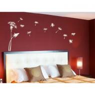 Дизайн спальной комнаты с использованием трафарета