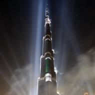 Бурдж Дубай - самое высокое здание в мире находится в ОАЭ!