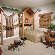 Спальня Робинзонов