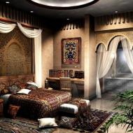 Спальня Шехерезады...