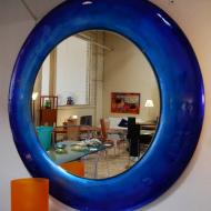 Зеркало в синей раме