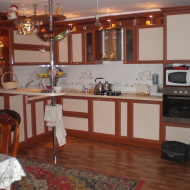 Кухня из рамочного МДФ