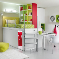 Современные идеи дизайна детской комнаты