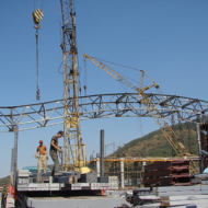Монтаж металлоконструкций в строительстве
