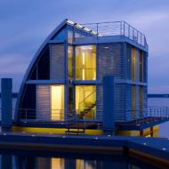 Плавающий дом «AR-CHE Aqua Floathome»