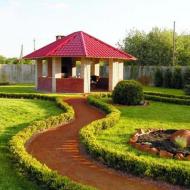 Плитка+газон