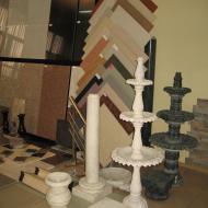 Декоративные элементы для фонтанов.