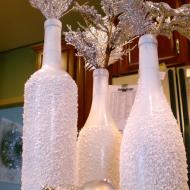 Оригинальные бутылки из соли