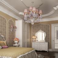 Дизайн спальни с арабским мотивом