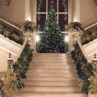 Новогоднее оформление входа