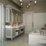 Просторная ванная в квартире