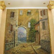 Отделка венецианской штукатуркой