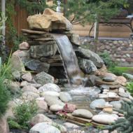 Водопады для загородного дома