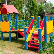Детский игровой комплекс с горкой - 01