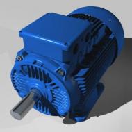 Электродвигатель АИР 132 кВт 3000 об мин (лапы)