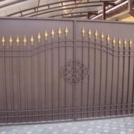 Кованные ворота № 1