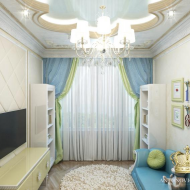 Шторы в детскую, Antonovich Home, Светлана Антонович, шторы, дизайн детской