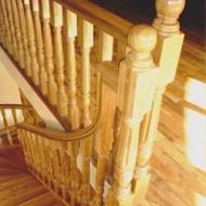 Лестницы из массивного дерева из дуба,