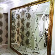 Зеркальное панно (мозайка)