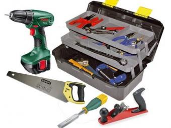 Инструменты, необходимые для ремонта