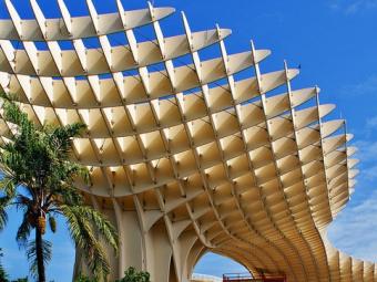 Самая большая деревянная конструкция в мире!