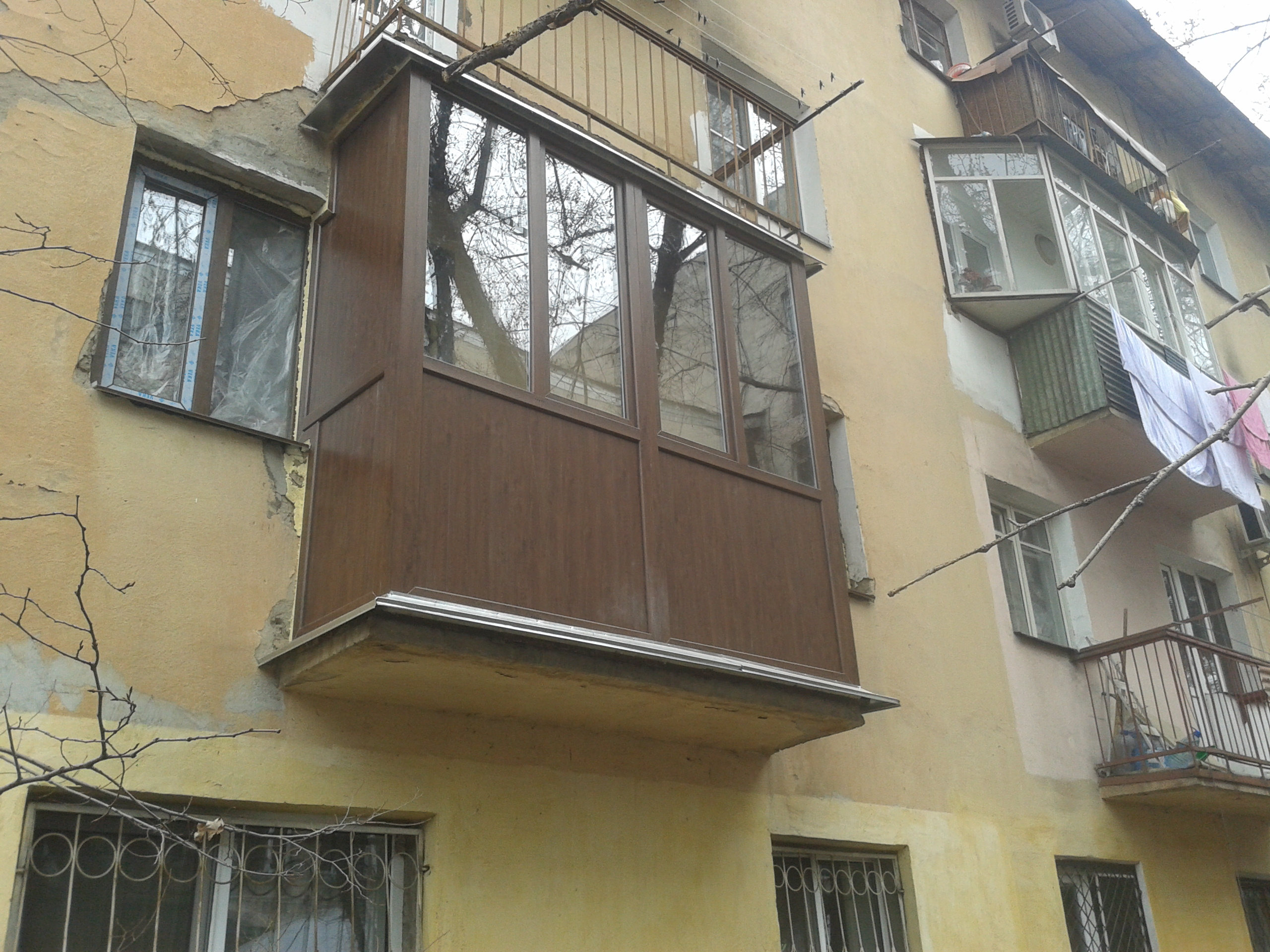 Остекление балконов и лоджий, остекление лоджий и балконов, .