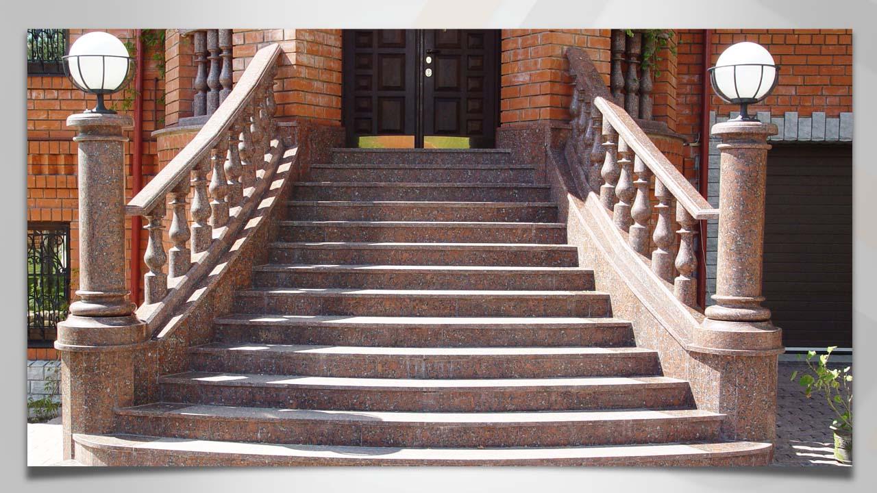 Уличные лестницы для дома фото