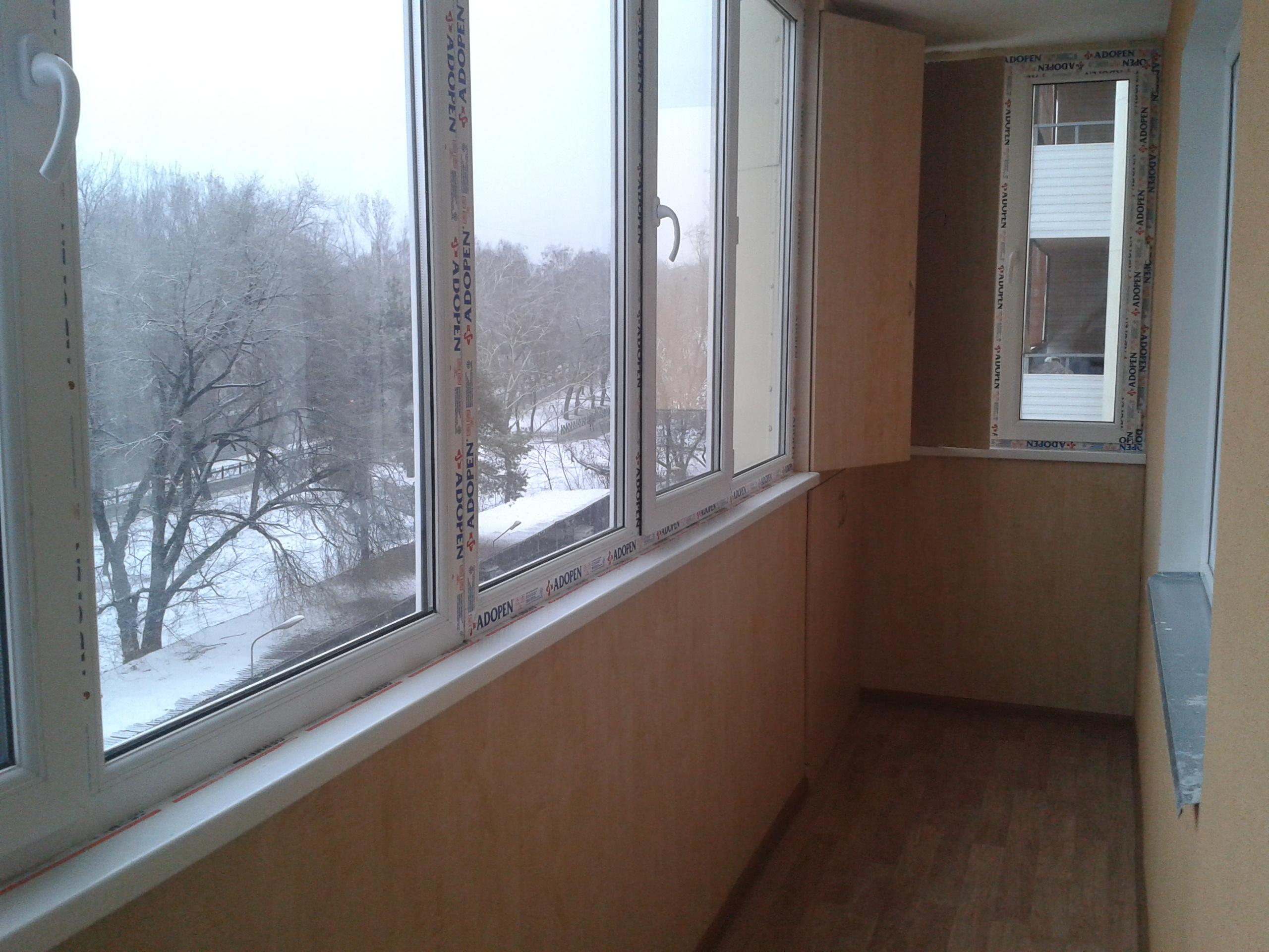 Утепление балконов.
