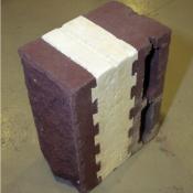 Финблок Термоблок - трёхслойный строительный камень с теплоизоляцией 110мм.  Сейсмостойкий, ровный, безопасный и не...