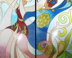 цепочка батик картины казахских художников точки зрения