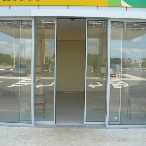 Раздвижные межкомнатные двери автоматические
