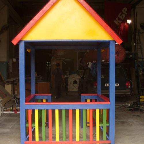 Домик в детский сад на площадку своими руками