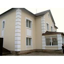 Отделка фасадов частных домов из кирпича