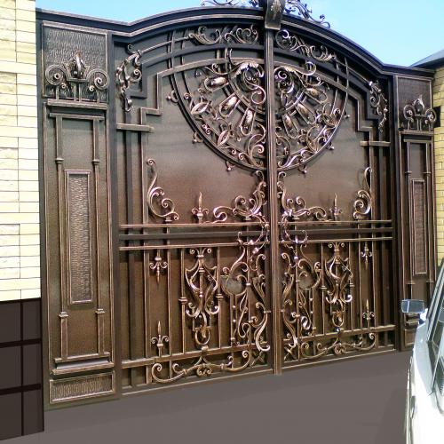 Технотранс автоматические ворота в алматы, казахстан: гаражные, откатные, раздвижные, секционные, распашные, металлические.