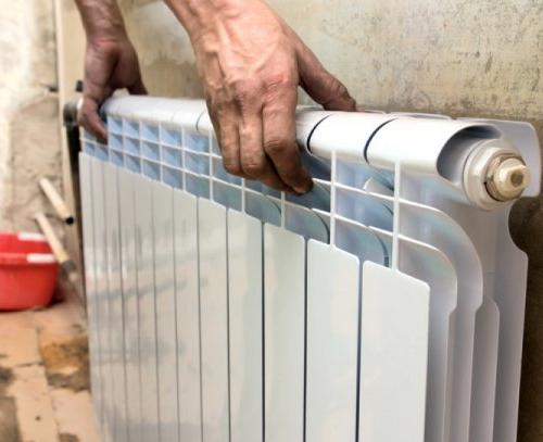 Установка радиатора отопления своими руками фото