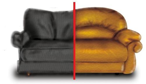 замена пружинного блока в диване на поролон